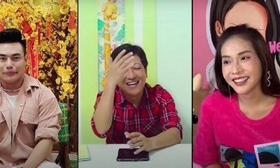 Trường Giang video call cho Khả Như, Dương Lâm ghi hình Nhanh như chớp