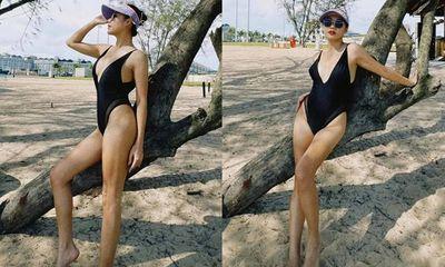 Văn Mai Hương mặc bikini táo bạo, khoe đường cong
