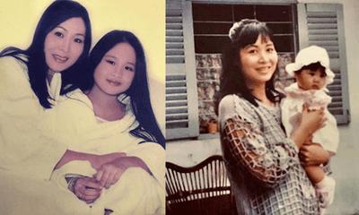 Nghệ sĩ Hồng Vân khoe ảnh năm xưa cùng con gái lớn, nhan sắc ái nữ khiến ai cũng