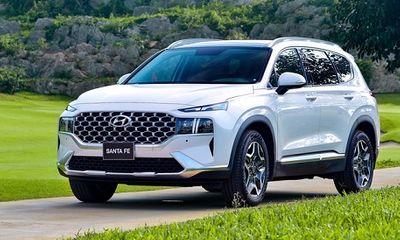 Bảng giá xe ô tô Huyndai mới nhất tháng 8/2021: Hyundai SantaFe giảm giá 30 triệu đồng
