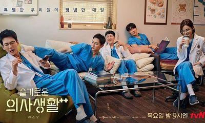 Hospital Playlist 2 lần đầu tiên giảm rating, khán giả vẫn nóng lòng đón chờ từng tập
