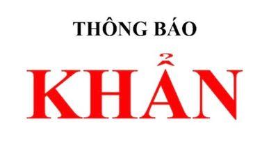 Khẩn: Hà Nội tìm người đến chung cư Liễu Giai Tower, chợ, bệnh viện tại quận Ba Đình