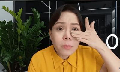 Nghệ sĩ Việt Hương bật khóc liên tục trong livestream vì bị xúc phạm khi làm từ thiện