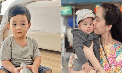 Tin tức giải trí mới nhất ngày 11/8: Ông xã Hoa hậu Đặng Thu Thảo hiếm hoi khoe ảnh con trai