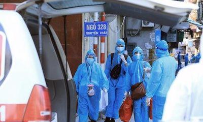 Chiều ngày 2/9: Hà Nội thêm 8 ca mắc COVID-19 mới, trong đó có 1 ca cộng đồng