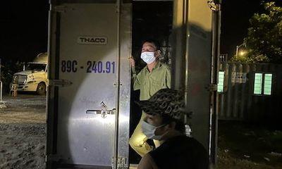Hải Phòng: Con trai giấu bố trong thùng xe để trốn chốt kiểm soát COVID-19