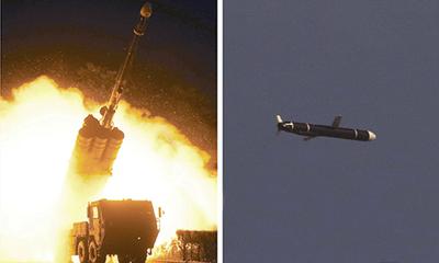 Triều Tiên phóng thử tên lửa hành trình tầm xa, được ví như vũ khí