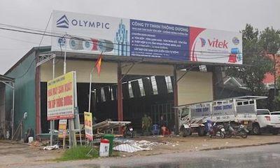 Hà Tĩnh: Giám đốc công ty tử vong vì bị cuốn vào máy cán tôn