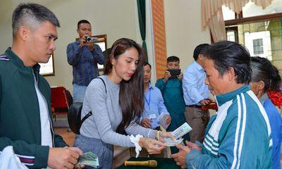 Bộ Công an yêu cầu 2 huyện ở Nghệ An báo cáo về hoạt động từ thiện của ca sĩ Thủy Tiên