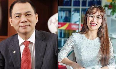 """Biến động sàn tỷ phú Việt Nam: Vingroup bỏ xa """"đối thủ"""", VietjetAir trở lại đường đua"""