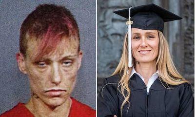 Bà mẹ 3 con từng đi tù vì nghiện ma túy tốt nghiệp đại học danh tiếng nước Mỹ