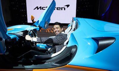 Đại gia Minh Nhựa xuất hiện cùng siêu xe trăm tỷ McLaren Elva