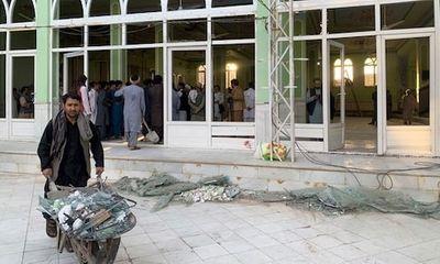 IS nhận trách nhiệm vụ tấn công nhà thờ Hồi giáo ở Afghanistan