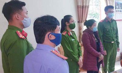 Nghệ An: Nữ chủ tịch xã bị bắt giam cùng cán bộ địa chính
