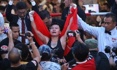 Võ sĩ Nguyễn Thị Thu Thi giành đai WBO thế giới, đạt thứ hạng kỷ lục trên bảng xếp hạng