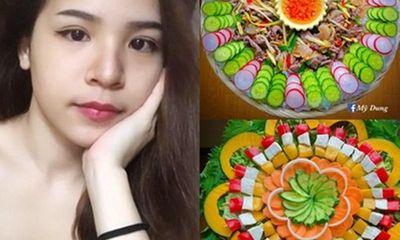 Mãn nhãn mâm cơm Việt của của nữ 9x đẹp như một tác phẩm nghệ thuật, khiến không ai nỡ ăn