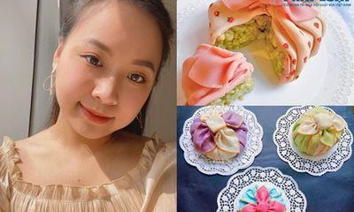 """Nữ 9x xinh đẹp làm xôi đậu Hàn Quốc đẹp mê li như gói quà khiến dân mạng """"mắt tròn mắt dẹt"""" thích thú"""