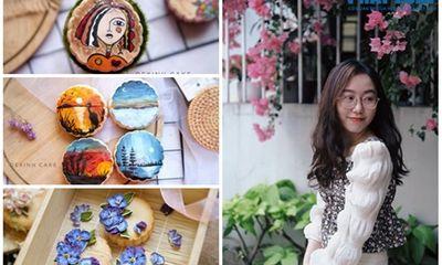 """Vẽ họa tiết độc đáo trên bánh trung thu, cô gái Sài Gòn bỗng chốc """"nổi như cồn"""""""