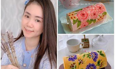 Cô gái Sài Gòn làm bánh bông lan vẽ họa tiết gây sốt cộng đồng mạng