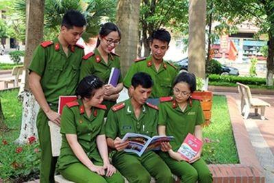 Bộ Công an công bố điểm chuẩn 8 trường khối Công an nhân dân năm 2021
