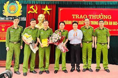 """Đội cảnh sát hình sự công an TP Thanh Hóa: Bản lĩnh của biệt đội có """"quả đấm thép"""""""