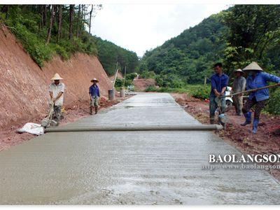 Lạng Sơn: Nỗ lực phát triển giao thông nông thôn