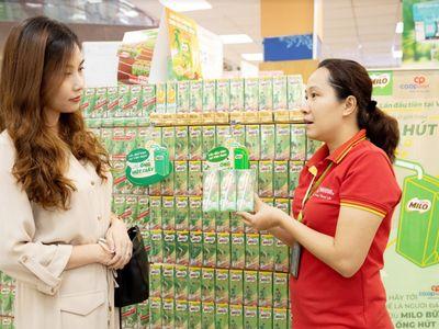 Nestlé Milo tiên phong sử dụng ống hút giấy bảo vệ môi trường