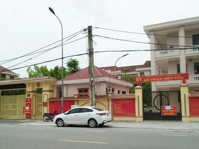 Nghệ An: Trụ sở công an huyện tạm thời bị phong tỏa vì một chiến sĩ dương tính với SARS-CoV-2