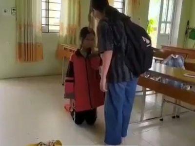 Vụ nữ sinh ở Lạng Sơn bị bạn tát liên tiếp, bắt quỳ giữa lớp học: Nguyên nhân từ lời bình phẩm trên mạng
