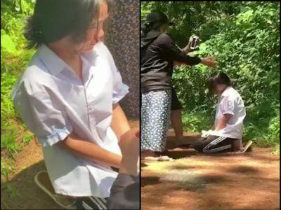 Vụ nữ sinh lớp 7 bị bắt quỳ gối, đánh đến chảy máu mũi: Hiệu trưởng nói gì?