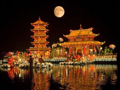 Độc đáo ngày Tết Trung thu ở các nước châu Á