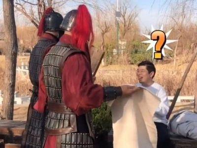 Đi tham quan phủ Khai Phong, du khách bất ngờ bị
