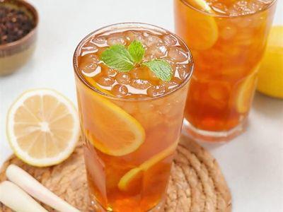Cách pha chế trà chanh Hong Kong giải nhiệt ngày hè hiệu quả
