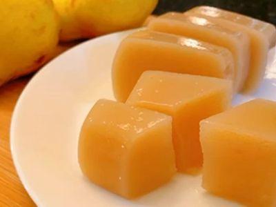 Cách làm thạch quả lê mềm dẻo núng nính, đảm bảo ăn là nghiện