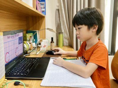 TP.HCM: Tiết học online của cấp tiểu học chỉ từ 20-25 phút