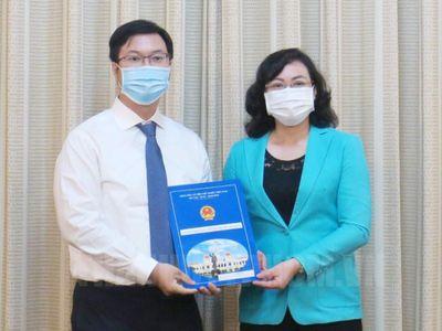 Thạc sĩ 33 tuổi làm Phó Chủ tịch UBND quận Bình Tân