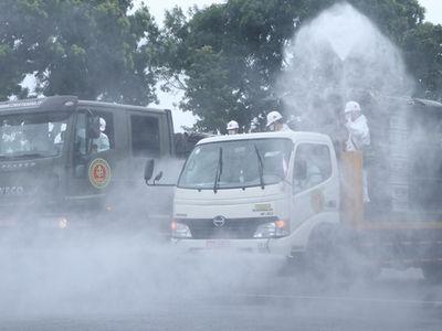 Nóng: Bộ Y tế yêu cầu không phun khử khuẩn ngoài trời do ảnh hưởng sức khỏe