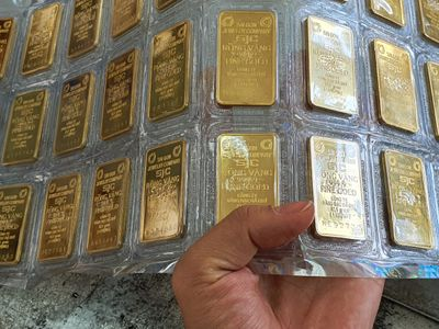 Giá vàng hôm nay ngày 14/9: Giá vàng SJC giảm 50.000 đồng/lượng