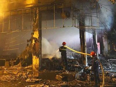 Vụ cháy phòng trà ở Nghệ An, 6 người chết: Bộ Công an khám nghiệm hiện trường, điều tra nguyên nhân