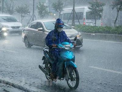 Tin tức dự báo thời tiết hôm nay 24/6: Hà Nội sắp có mưa rào và dông