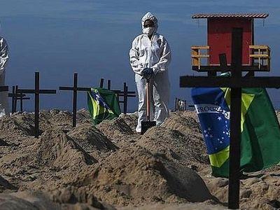 Brazil: Hơn nửa triệu người đã chết vì COVID-19