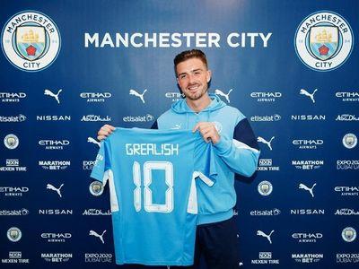 Jack Grealish chính thức gia nhập Man City với mức giá cao nhất lịch sử nước Anh