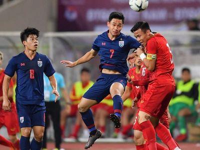 Thái Lan thu hẹp khoảng cách với Việt Nam trên bảng xếp hạng FIFA