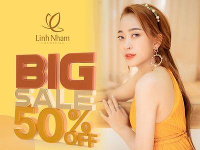 Linh Nham cosmetics - vượt doanh số mùa covid nhờ kinh doanh online