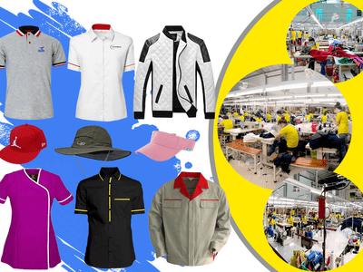 Top xưởng may quần áo tại HCM: sản xuất hàng bán shop thời trang, làm in thêu đồng phục
