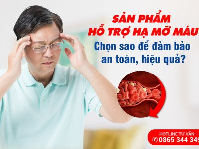 Xu hướng sử dụng sản phẩm thảo dược hỗ trợ hạ mỡ máu