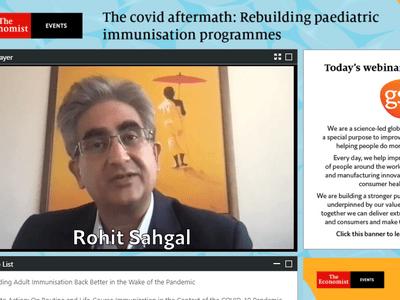 """The Economist & GSK tổ chức Tọa đàm khoa học quốc tế """"Hậu quả sau COVID-19: gánh nặng sẽ nhân đôi khi chủng ngừa ở trẻ nhỏ bị gián đoạn"""""""