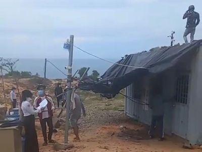 """Phan Thiết – Bình Thuận:Tòa phản hồi vụ nhóm người tự xưng cán bộ thực hiện """"cưỡng chế"""", đập phá tài sản doanh nghiệp"""