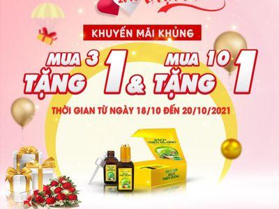 Công ty cổ phần dược phẩm Bách Thiên Hương gửi lời chúc mừng nhânngày 20/10.