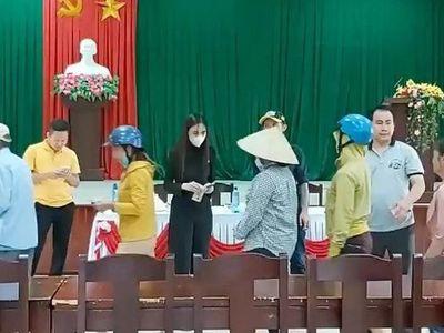 Thêm 4 địa phương ở Thừa Thiên - Huế xác nhận số tiền từ thiện của ca sĩ Thuỷ Tiên